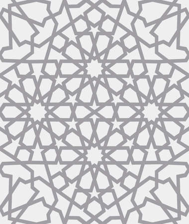 Islamic pattern . Seamless arabic geometric pattern, east ornament, indian ornament, persian motif, 3D. Endless texture can be used for wallpaper, pattern fills, web page background . Ilustrace