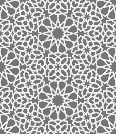 web site design template: Islamic pattern . Seamless arabic geometric pattern, east ornament, indian ornament, persian motif, 3D. Endless texture can be used for wallpaper, pattern fills, web page background . Illustration