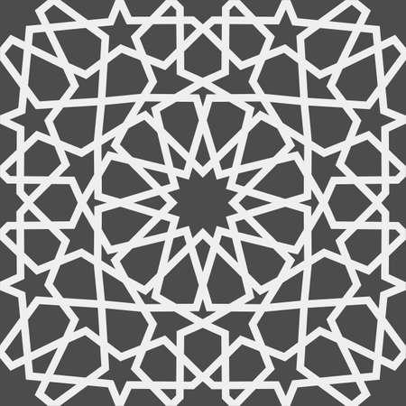 Islamic pattern . Seamless arabic geometric pattern, east ornament, indian ornament, persian motif, 3D. Endless texture can be used for wallpaper, pattern fills, web page background . Illusztráció