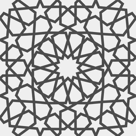 Islamic pattern . Seamless arabic geometric pattern, east ornament, indian ornament, persian motif, 3D. Endless texture can be used for wallpaper, pattern fills, web page background . Illustration