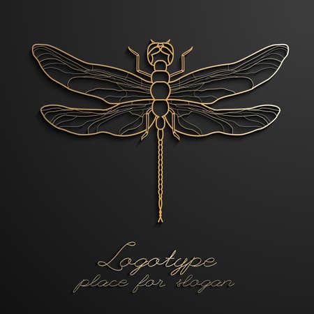 Dragonfly design 版權商用圖片 - 101412958