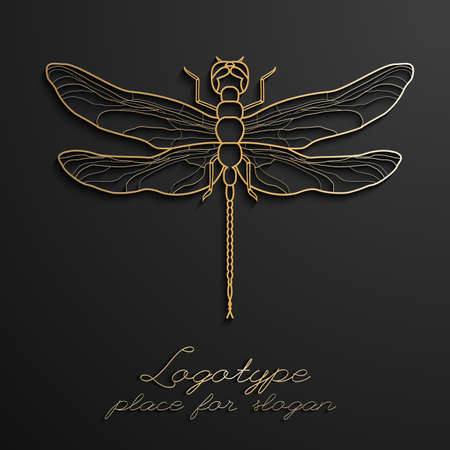 Dragonfly design Illustration