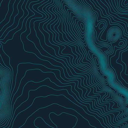 Topographic map background concept with space for your copy. Topography lines art contour , mountain hiking trail
