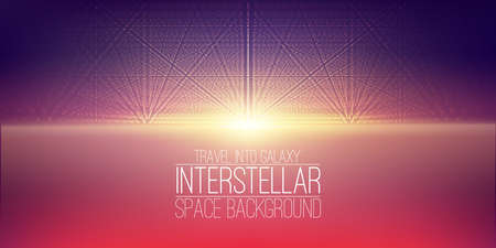 interstellar space background.Cosmic galaxy illustration.
