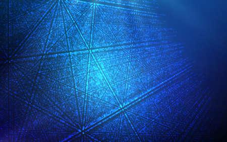 Muziek abstract blauw als achtergrond. Equalizer voor muziek, tonen geluidsgolven met muziek golven, muziek achtergrond equalizer vector concept.