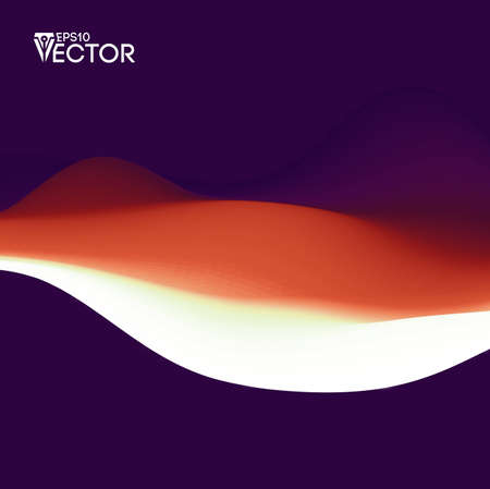 Vector landscape abstract gradient background. Color background texture landscape with fluid shapes.Motion Vector illustration Illustration