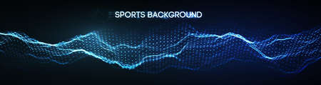 Sport background vector illustration. Mixed media run, soccer website background. Soccer website background.