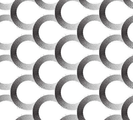 Seamless dots pattern EPS 10. Vector illustration. Abstract dots Ilustração