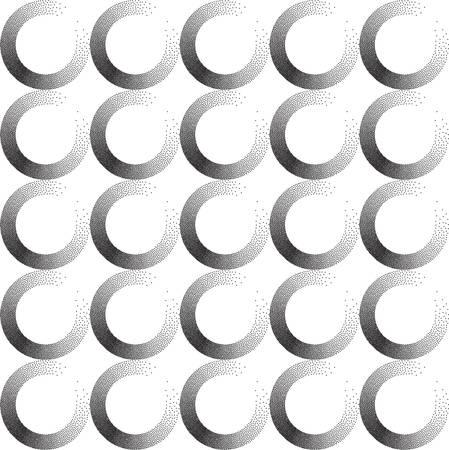 Seamless dots pattern EPS 10. Vector illustration. Abstract dots Ilustração