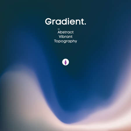 Fluid gradient background design. Futuristic liquid abstract colorful wallpaper. EPS 10