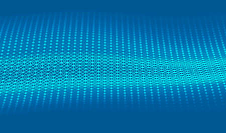 Abstract bright glitter blue background. elegant illustration Banco de Imagens - 124345988