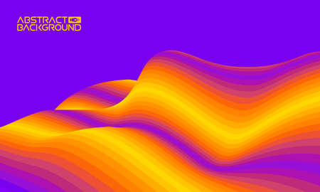 Colorful wave background digital. Design of colour art texture. Shape background abstract brochure cover.