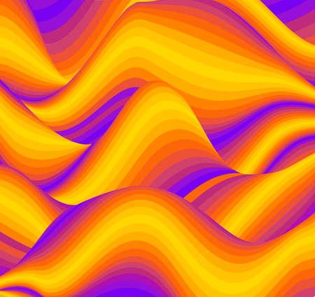 Colorful wave background digital. Design of colour art texture. Shape background abstract brochure cover. Banco de Imagens - 124112832