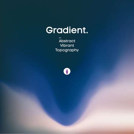 Fluid gradient background design. Futuristic liquid abstract colorful wallpaper.