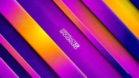 Colorful geometric background . Abstract geometric purple yellow blue graphic design sharp pattern. Business vector template. Creative design elements.