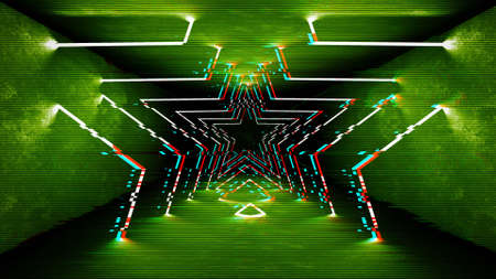 Futuristic pattern with glitch digital design. Internet technology. Abstract pixel light effect. Vhs glitch with noise error video damage screen. 版權商用圖片 - 138898629