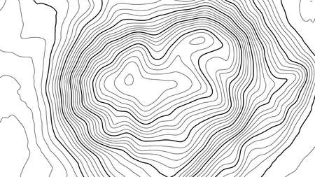 Grey contours vector topography. Geographic mountain topography vector illustration. Topographic pattern texture. Map on land vector terrain. Elevation graphic contour height lines.
