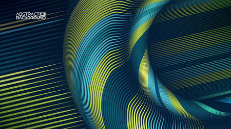 line wave texture 矢量图像