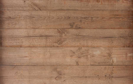 Brown wood texture empty template. Wall of old wooden plank boards. Material texture surface. 免版税图像