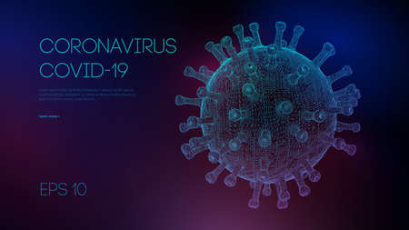 Covid 19 coronavirus concept. Healthcare medical background microbiology. Global pandemic background. Pandemic, flu, corona medicine concept.