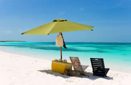 Tropical beach, Los Roques, Venezuela
