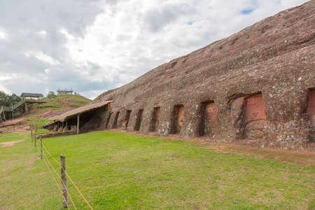 Site El Fuerte de Samaipata  Fort Samaipata  located in the Santa Cruz Department, Bolivia