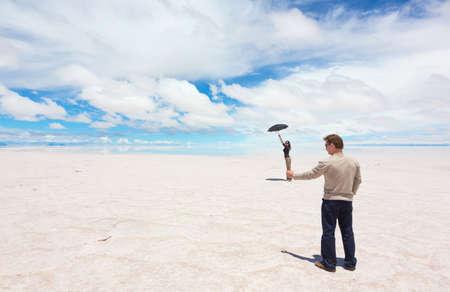 salar: Spatial perspective on the lake Salar de Uyuni, Bolivia