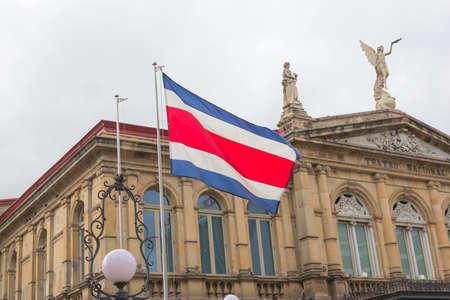 bandera de costa rica: Teatro Nacional de Costa Rica en San José, Costa Rica