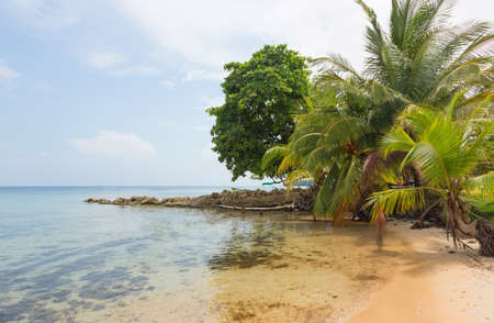 bocas del toro: Boca del Drago beach on the archipelago Bocas del Toro Panama
