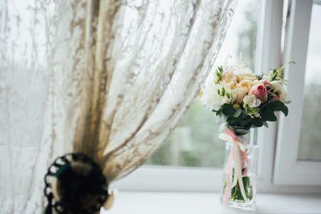 rosa: Wonderful luxury wedding bouquet of different flowers