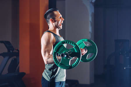 Athlete raises the bar in the gym