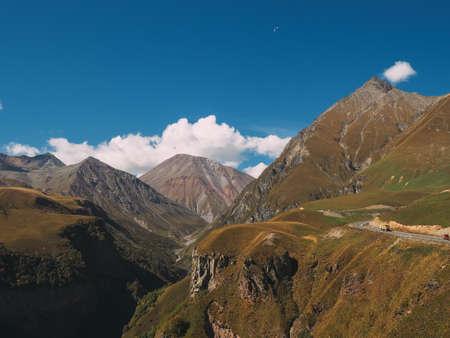Beautiful mountain landscape of Sonamarg, Jammu and Kashmir state, India Stock Photo - 114337062