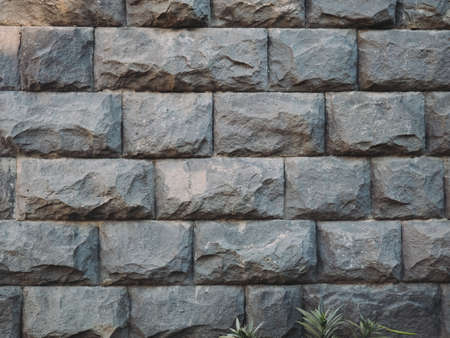 stone wall. brickwork texture. back background .beton