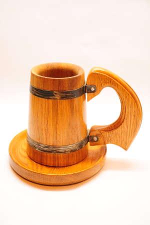 Mug on a plate Zdjęcie Seryjne