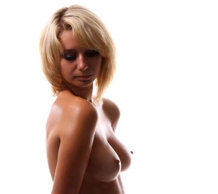 Naked young beauty woman with good breast Stock Photo - 6807369