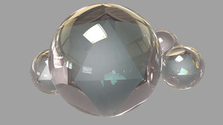 Glass sphere photo