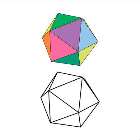 icosahedron: Platonic
