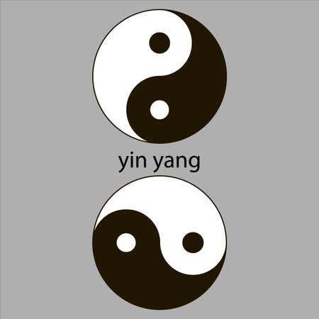 Yin Yang  Stock Vector - 21139479