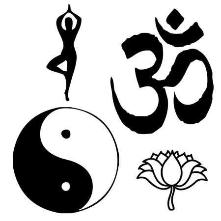 India symbols  Illustration