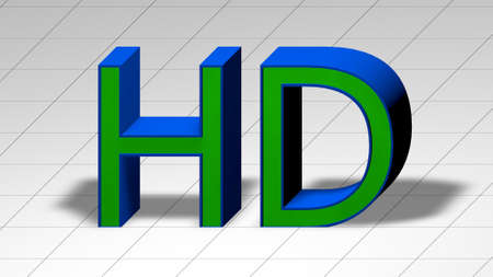 the third dimension: 3D text sign