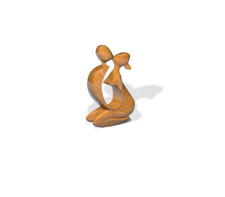 wood figurine: Figurilla de madera