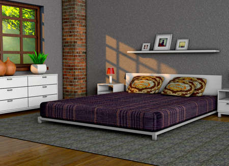 Bedroom Stock Photo - 23065509