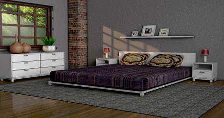 Bedroom Stock Photo - 23065510