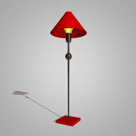 Floor Lamp background Stock Photo - 23414317