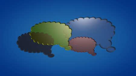 glas: Glas clouds