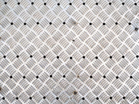 Texture of aluminium metal plate. Horizontal picture. Stock Photo