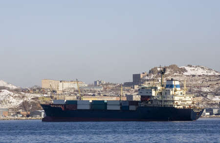 Container ship Stock Photo - 292970