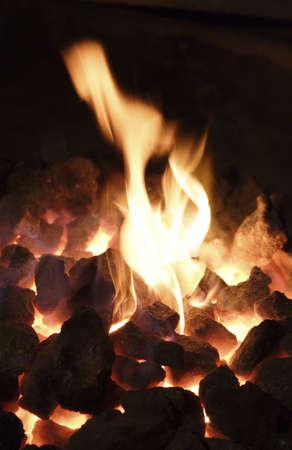 smithy: la fiamma luminosa e vivere in un carboni smithy