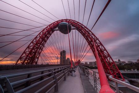 Nowoczesny most wantowy, Moskwa, Rosja