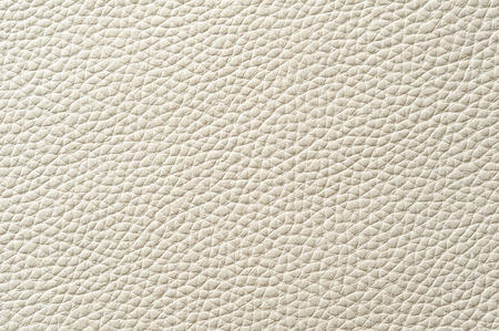 Closeup of seamless white leather texture for background Reklamní fotografie
